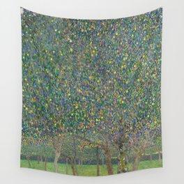 Gustav Klimt - Pear Tree Wall Tapestry