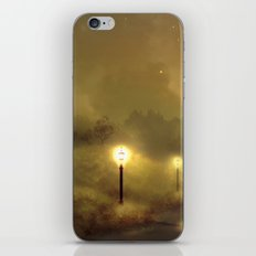 Ghost Lights iPhone & iPod Skin