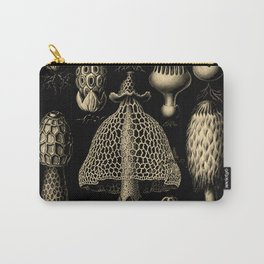 """""""Basidiomycopa"""" from """"Art Forms of Nature"""" by Ernst Haeckel Carry-All Pouch"""