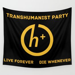 Transhumanist Party Wall Tapestry