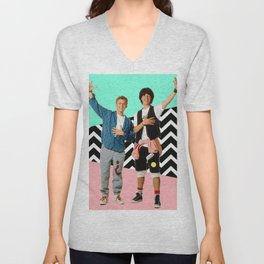 Bill and Ted Unisex V-Neck