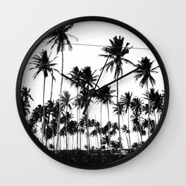 Palms all over Wall Clock