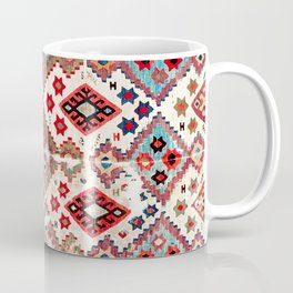 Gaziantep  Antique Turkish Tribal Kilim Coffee Mug