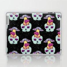skull alien Laptop & iPad Skin