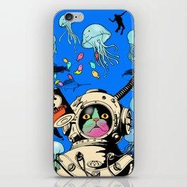 marine cat iPhone Skin