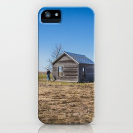 Adam Hoffman Homestead 9 iPhone Case