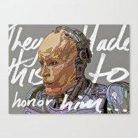 robocop Canvas Prints featuring ROBOCOP by TidyDesigns