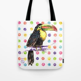 Toucan Happiness Tote Bag