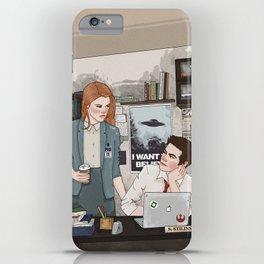 Teen Wolf X-Files AU (Stiles Stilinski & Lydia Martin) iPhone Case