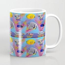 Colorful sea fish pattern Coffee Mug