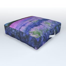 Lavender Fields Outdoor Floor Cushion