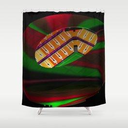 The Corrida Shower Curtain