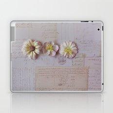 Vintage Garden, Flower photography Laptop & iPad Skin