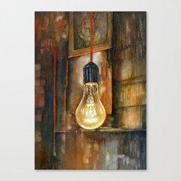 40 WATT Canvas Print