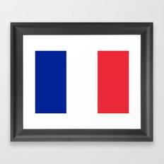 Flag of France Framed Art Print