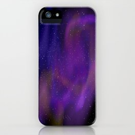 Spacey space iPhone Case