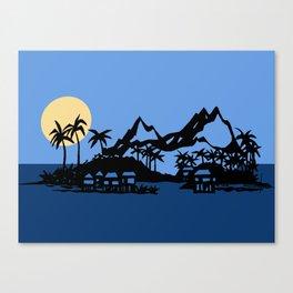 Southern Island Canvas Print
