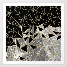Marble Ab Art Print