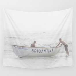 Brigantine Lifeboat Wall Tapestry