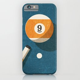 BILLIARDS / Ball 9 iPhone Case