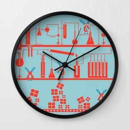 Reindeer Factory Wall Clock