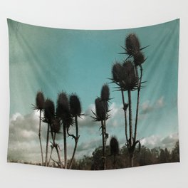 Prickly Teasels  Wall Tapestry