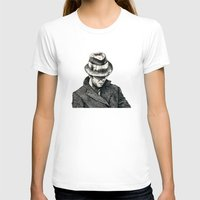 tom waits T-shirts featuring tom waits by Eric Tiedt