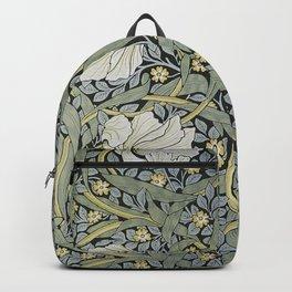 William Morris - Pimpernel  Wallpaper Design Backpack