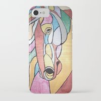 metallic iPhone & iPod Cases featuring Metallic Horse by J&C Creations