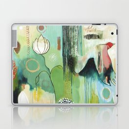 """Fly Home"" Original Painting by Flora Bowley Laptop & iPad Skin"