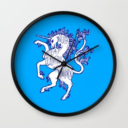 Advice Regarding Unicorns #1 Wall Clock