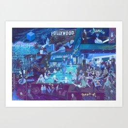 The Blue Box Art Print