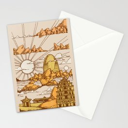 TEMPLES OF HAMPI Stationery Cards