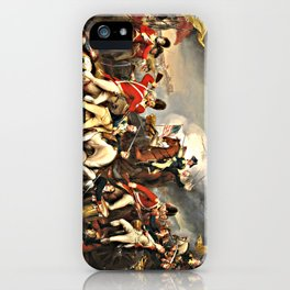 The Death of General Mercer at the Battle of Princeton, January 3, 1777 iPhone Case