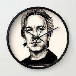 Alan Rickman Wall Clock