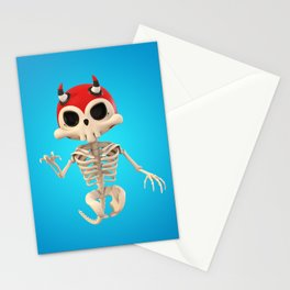 SkeleTony Stationery Cards