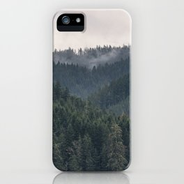 Pacific Northwest Forest - Nature Photography iPhone Case
