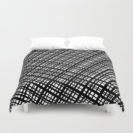 The Bauhaus Grid, diagonal pattern Duvet Cover