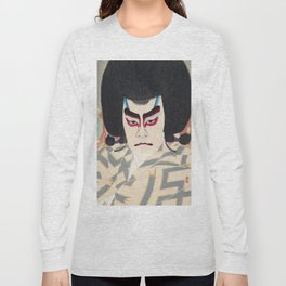 Japanese Ukiyo-e Art Long Sleeve T-shirt