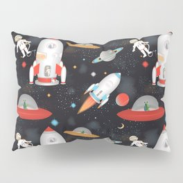 Spaceships Pillow Sham