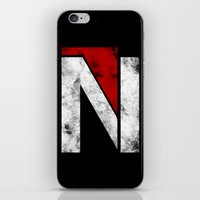 n7 iPhone & iPod Skins featuring N7 new logo by BomDesignz