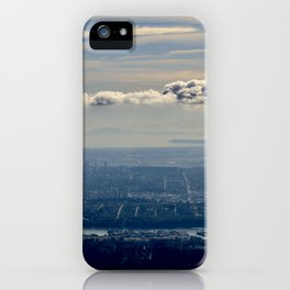 Silver Linings over Vancouver iPhone Case