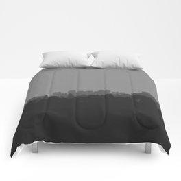 Grey Nature Comforters