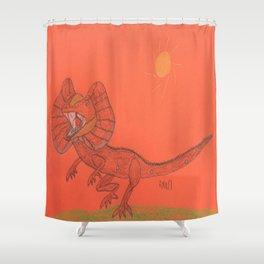 Frilled Lizard Shower Curtain