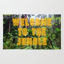 Welcome to the Jungle - Neon Rug
