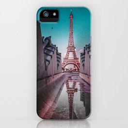 An Eye Full of the Eiffel iPhone Case