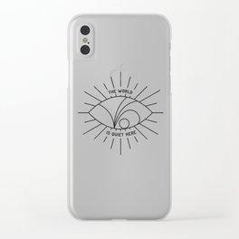 V.F.D. II Clear iPhone Case