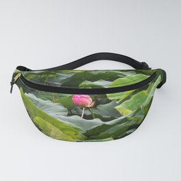 Sankeien Garden Water Lilly before Bloom Fanny Pack