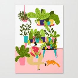 Love Plants Canvas Print