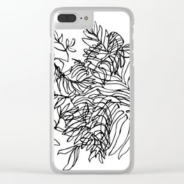 Ferda Forest I Clear iPhone Case
